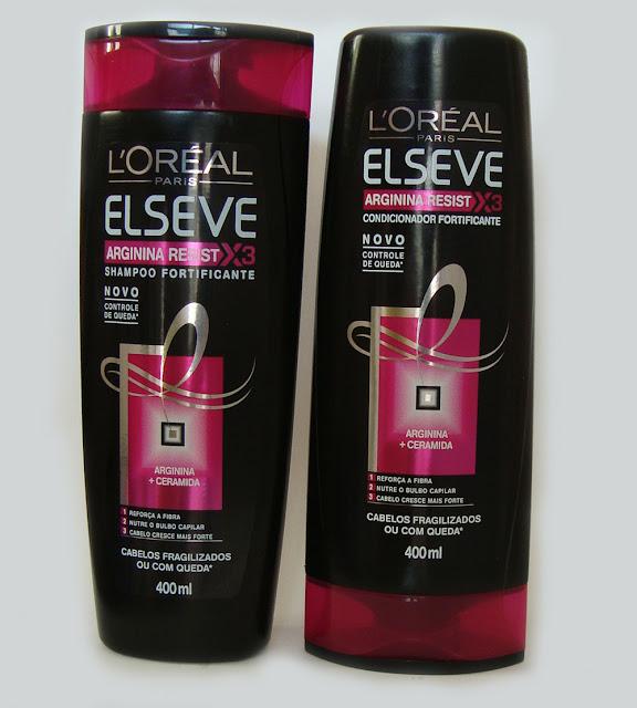 Shampoo e Condicionador Elseve Arginina Resist X3