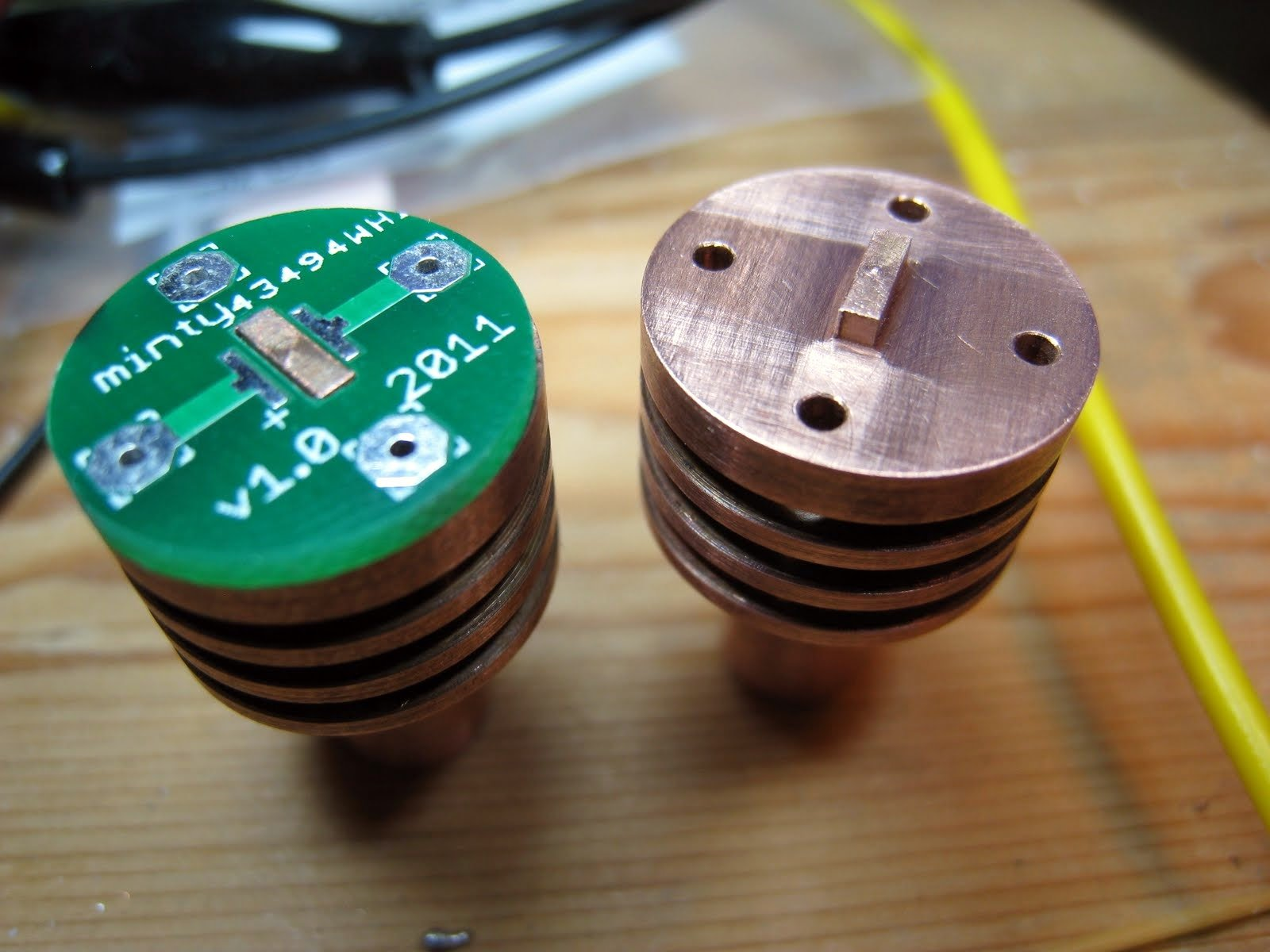 Bicycle Lighting Hot Led Lux Readings Of A Cree Xp G On Copper Fusion Pcb Service Upgraded With Even Lower Pricing Seeed Studio Nub Pokes Through Hole Milled In