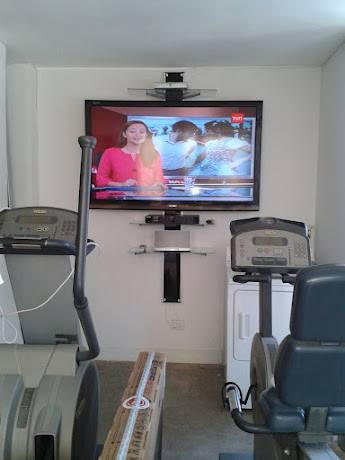 Rack en Home gym