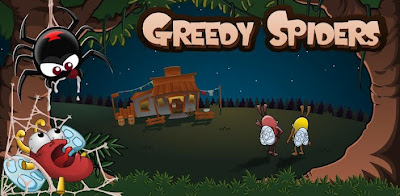 Greedy Spiders Apk Game v2.2 Free