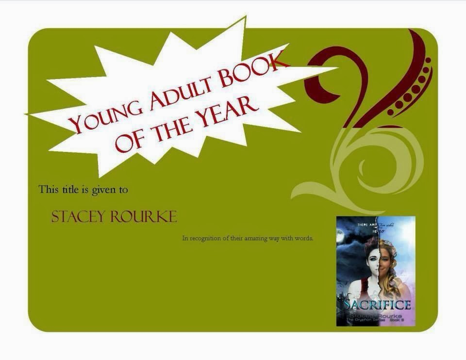 Turning Pages voted Young Adult Book of the Year for Sacrifice