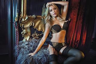 Sylvie van der Vaart Sexy Lingerie Model
