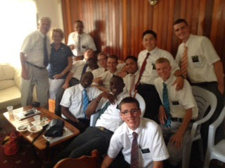 The missionaries - we love them already!