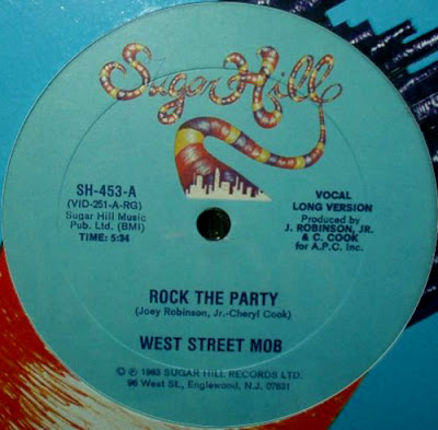 West Street Mob – Rock The Party (1983, VLS, 256)