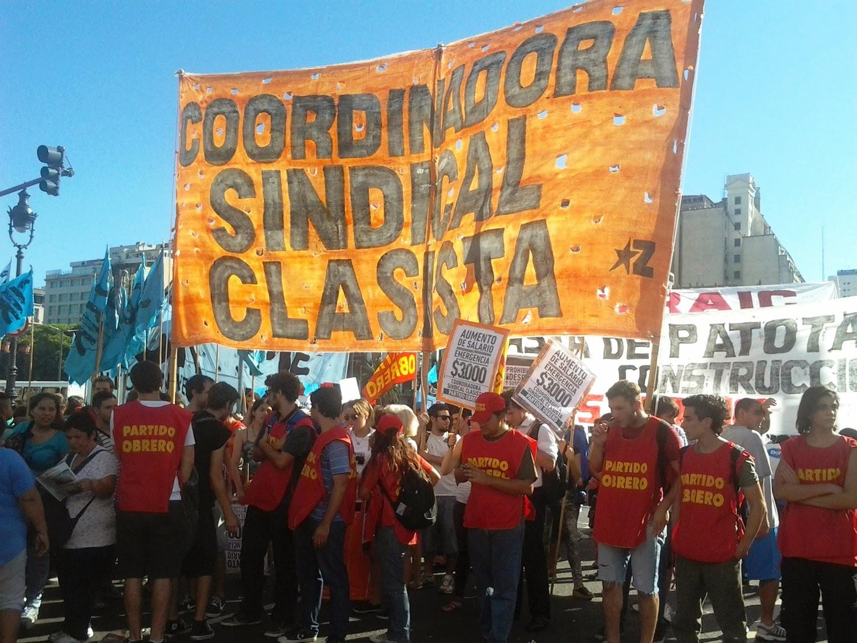 Coordinadora Sindical Clasista - Partido Obrero