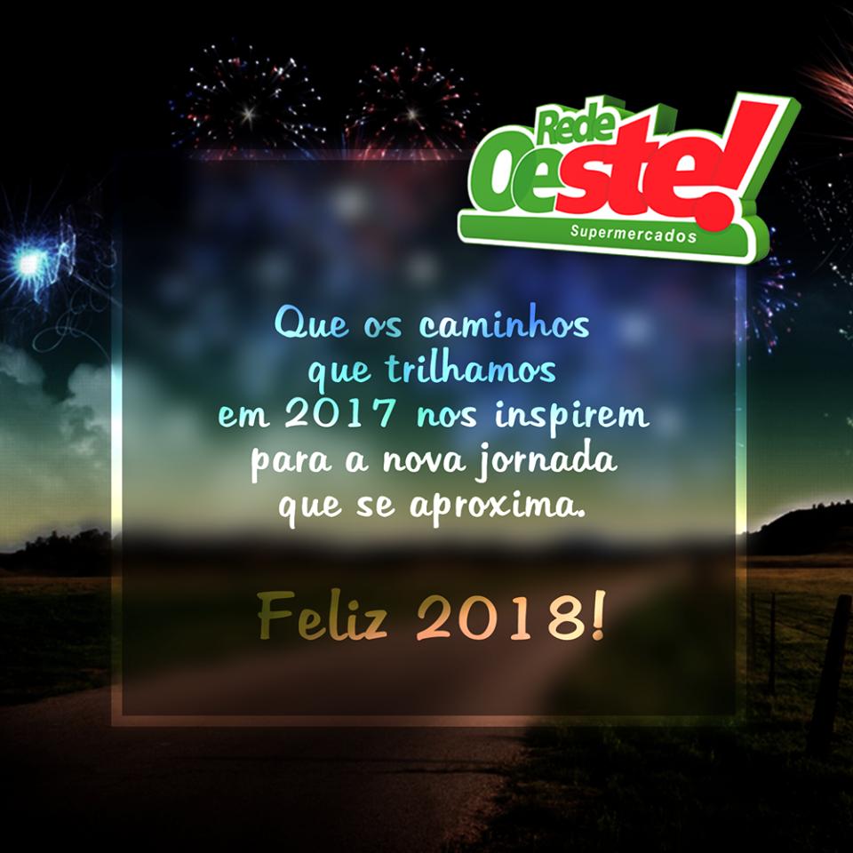 FELIZ 2018, AOS CLIENTES E AMIGOS!
