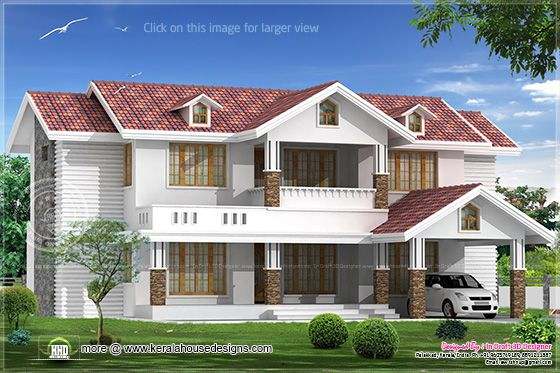 3455 sq-ft villa design 2
