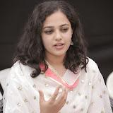 Nitya meenon Latest Photo Gallery in Salwar Kameez at New Movie Opening 37