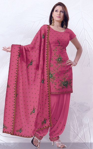 Pink Shalwar Kameez Ith Hand Embroidery Style 2012 ~ Best 20 Fashion Of World