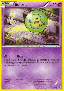 Solosis Plasma Blast Pokemon Card