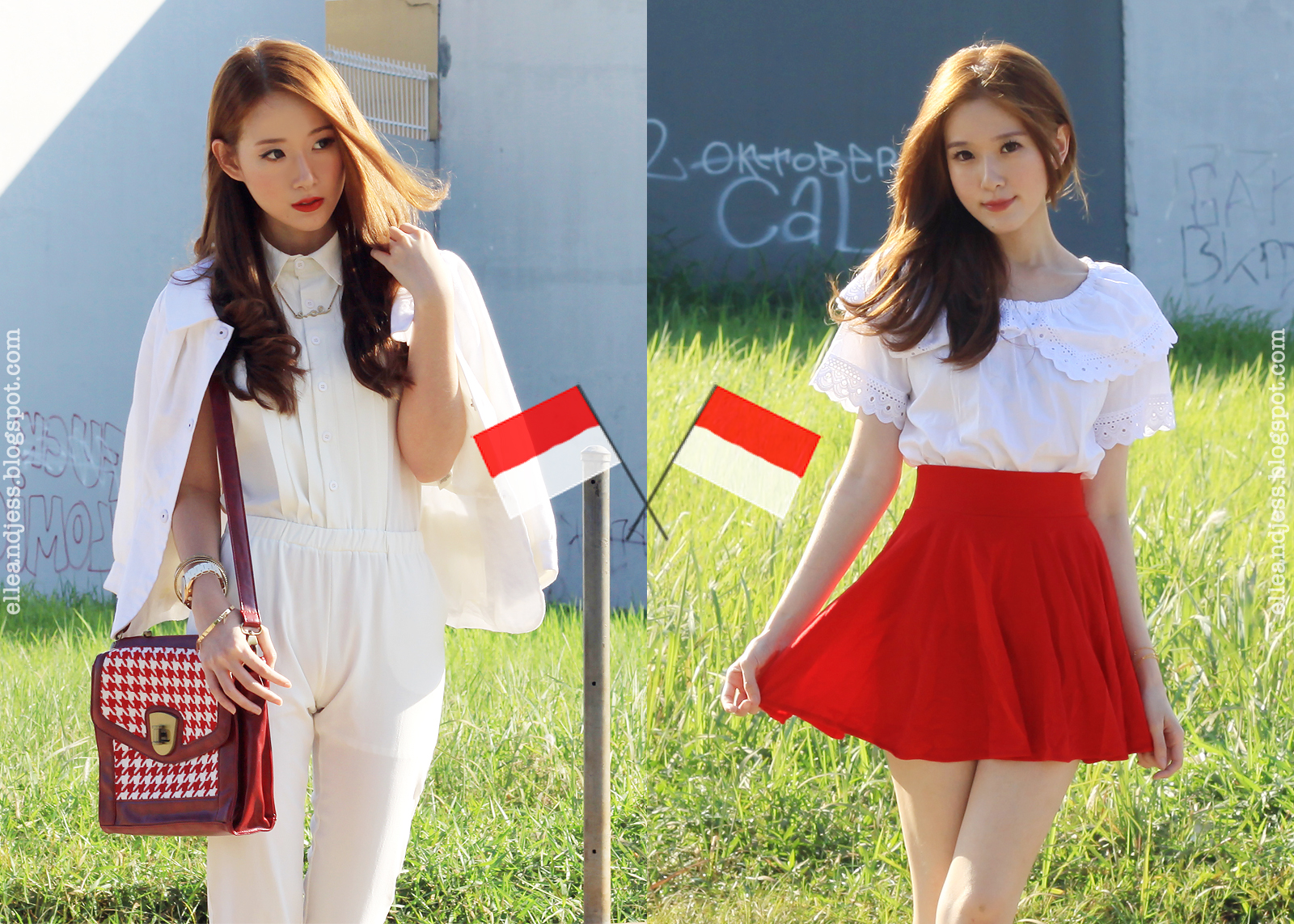 Merdeka Elle And Jess Bloglovin Extri Jam Tangan Pria X3001a Hitam Happy Independence Day Our Country Indonesia
