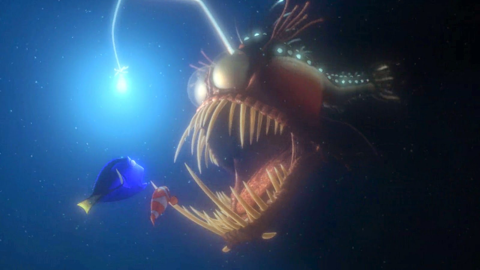 dan the pixar fan finding nemo anglerfish light up