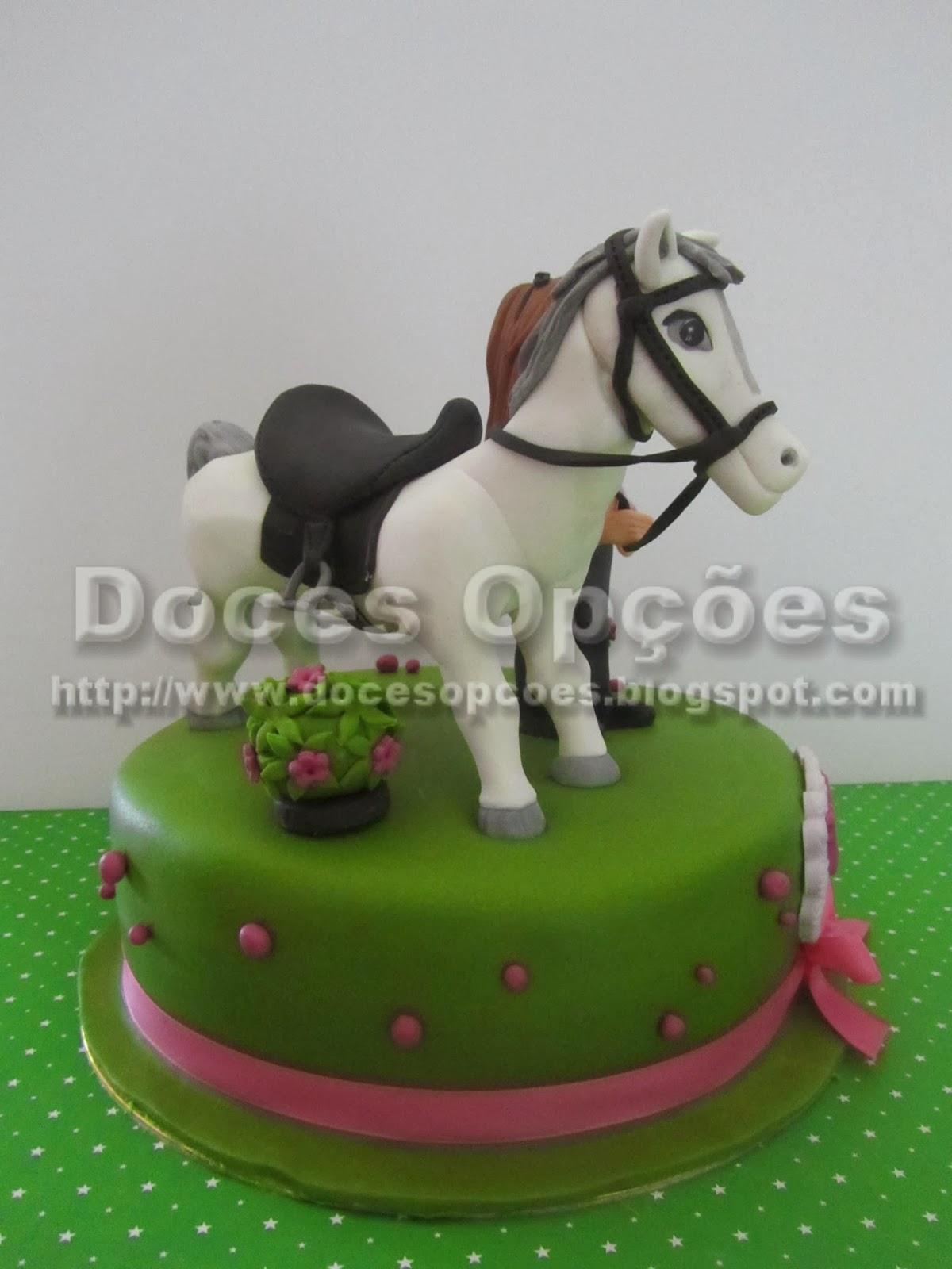 bolo aniversário cavalo