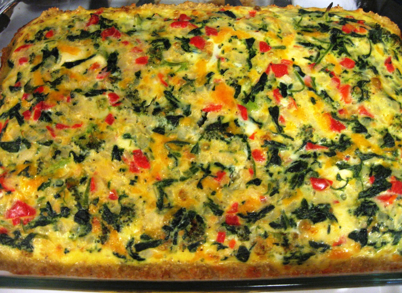 Low fat veggie bake recipe