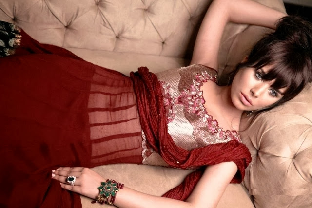 Resham Revaj New Stylish Bridal Wear Dresses Collection 2013-14 For Girls And Women Fashion