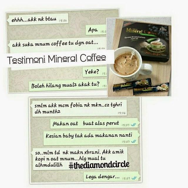Mineral Coffee untuk ibu mengandung