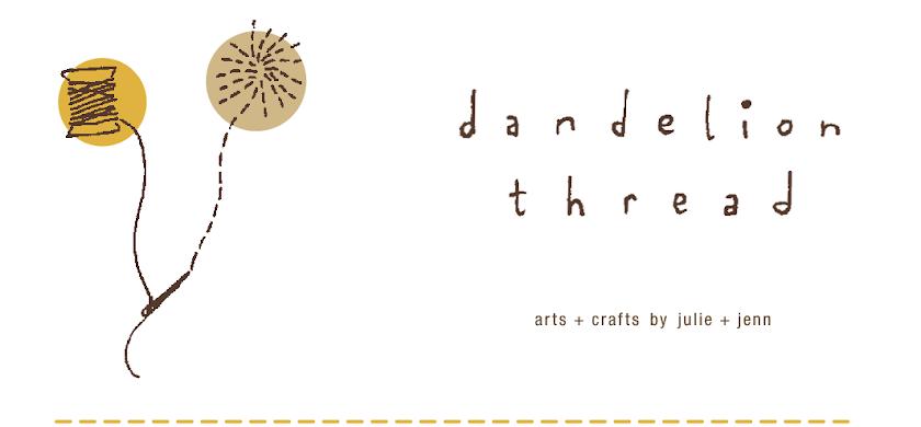dandelion thread
