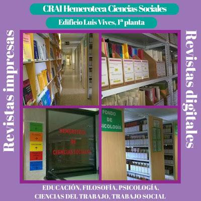CRAI Hemeroteca Ciencias Sociales.