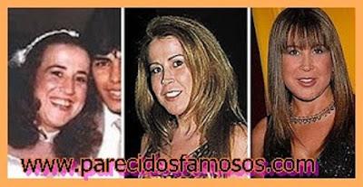 Zilú Camargo  Brasileña antes y después
