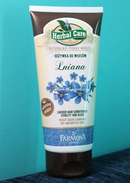 Farmona Herbal Care, Odżywka do włosów lniana.