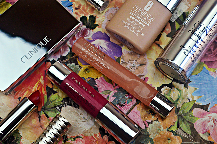 Autumn Skin With Clinique, All About Eyes, Custom Smart Serum, Eye Roll On, Chubby Sticks, Feather Mascara, Matte Lipstick, Anti Blemish Powder, Liquid Foundation, UK Beauty Lifestyle Fashion Blogger , make up review