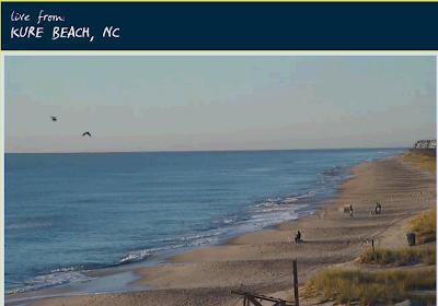 Kure beach nc webcam in hd serenity live for Kure beach pier fishing report