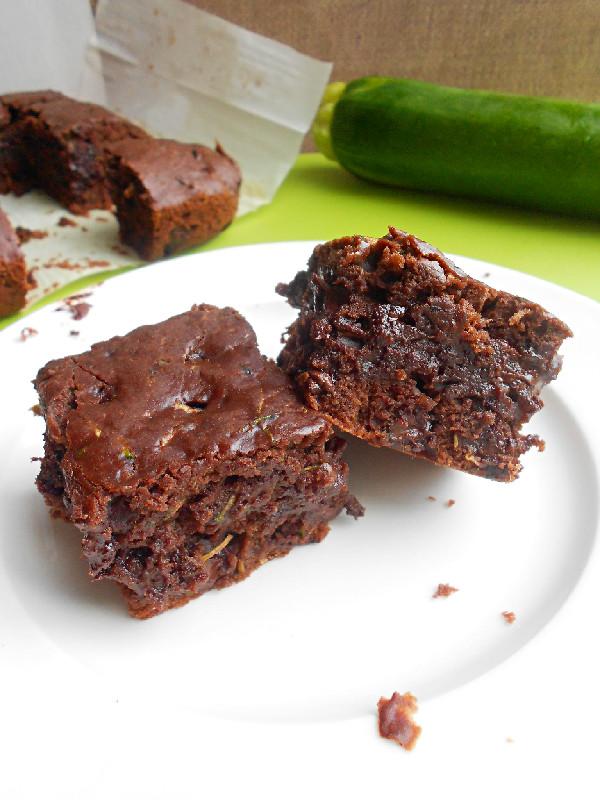 Chocolate Chip Zucchini Brownies Recipe — Dishmaps