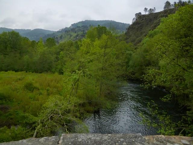Río Lor. Barxa de Lor