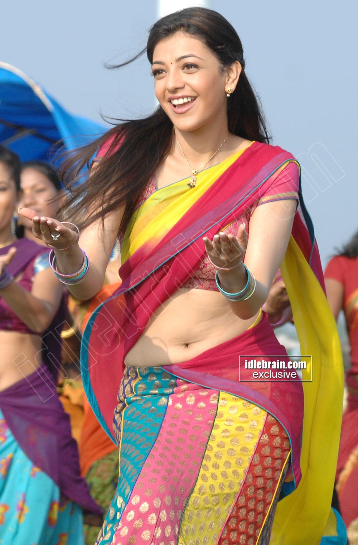 Kajal Agarwal New Sexy Navel Hip Show