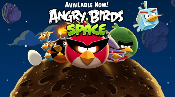 Angry Birds Space for Blackberry Playbook