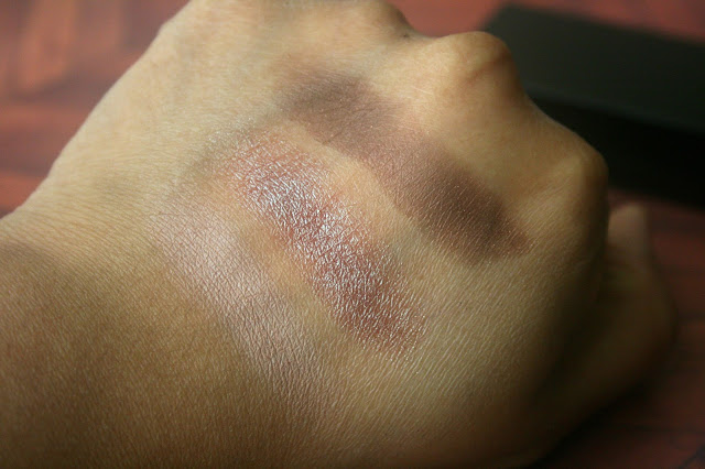 Laura Mercier Petite Baked Eye Color Bonbons in Bronze Trio Swatch
