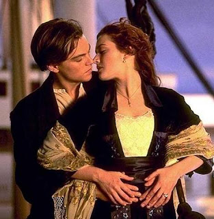Imagen de amor del Titanic