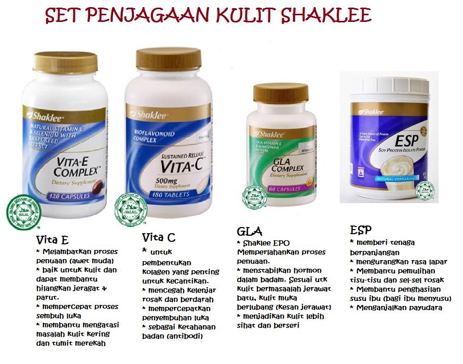 Vitamin Untuk Kulit Wajah Cantik Shaklee