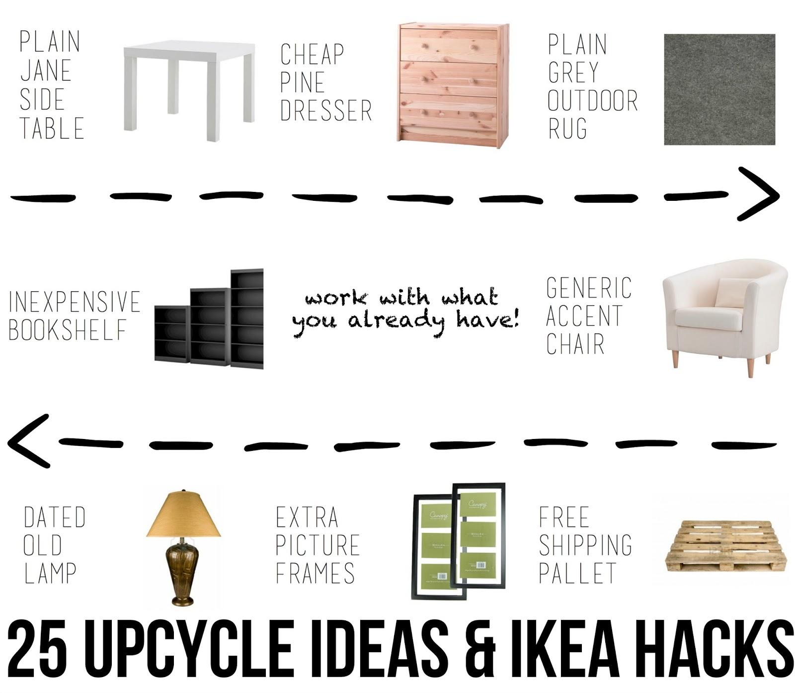 25 Upcycle Ideas Amp Ikea Hacks East Coast Creative Blog