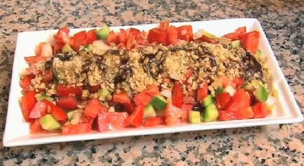 Gavurdağı salatası resmi