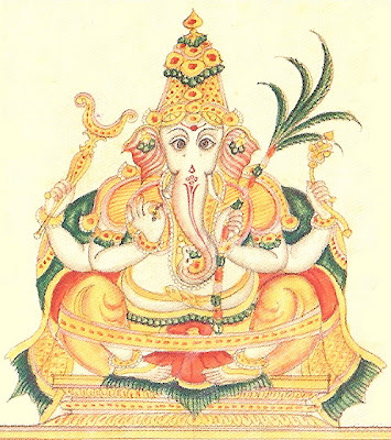 Picture of Yoga Ganapati Form of Ganesha