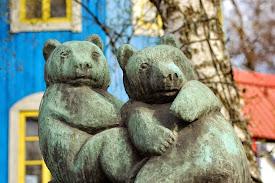 Linnanmäen kiviset karhut