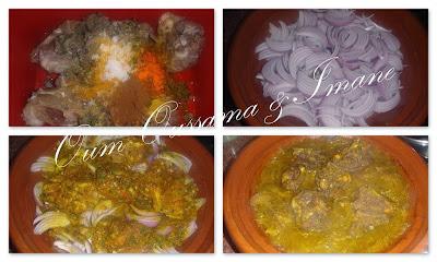 طاجين اللحم بالبصلة و الزيتون 2