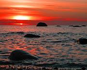 Sunset and Sky Walpapers (seascale beach sunset rocks)