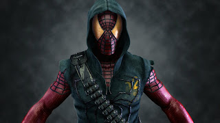 Spider Man Warrior HD Wallpaper