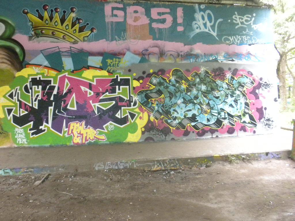 Graffiti wall amsterdam - Legal Wall