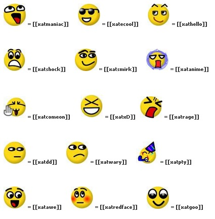 Todos los emoticones para el chat de Facebook - Al dia... Tutoriales