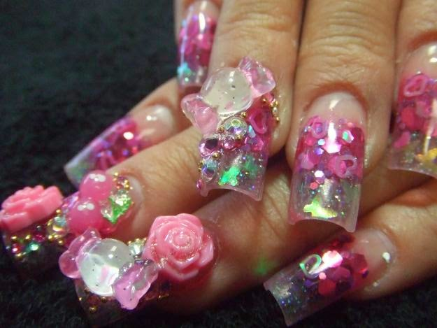 Nail Salon Designs Stytle Try Pinkies Nail Salon Design Style