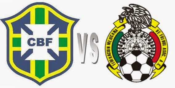 Prediksi Pertandingan Brasil Kontra Meksiko, Putaran Group A World Cup 2014