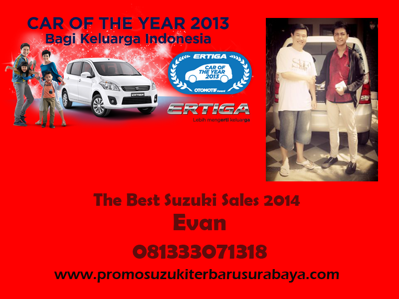 Promo Suzuki Ertiga Terbaru UMC Dan SBT Surabaya Bangkalan Nganjuk Kediri Hubungi Evan 03131073787
