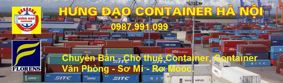 Bán container cũ, công ten nơ kho giá rẻ