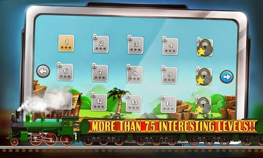 Puzzle Rail Rush HD Android Apk