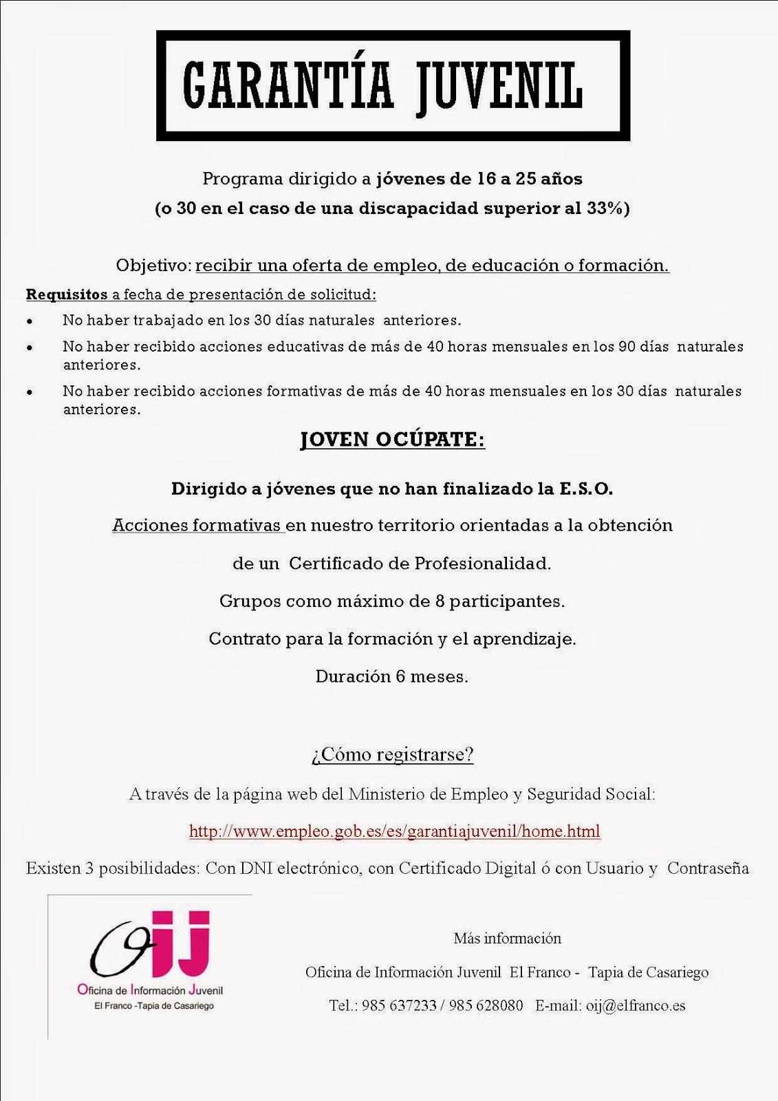 Blog de la oficina joven de los ayuntamientos de el franco for Oficina certificado digital