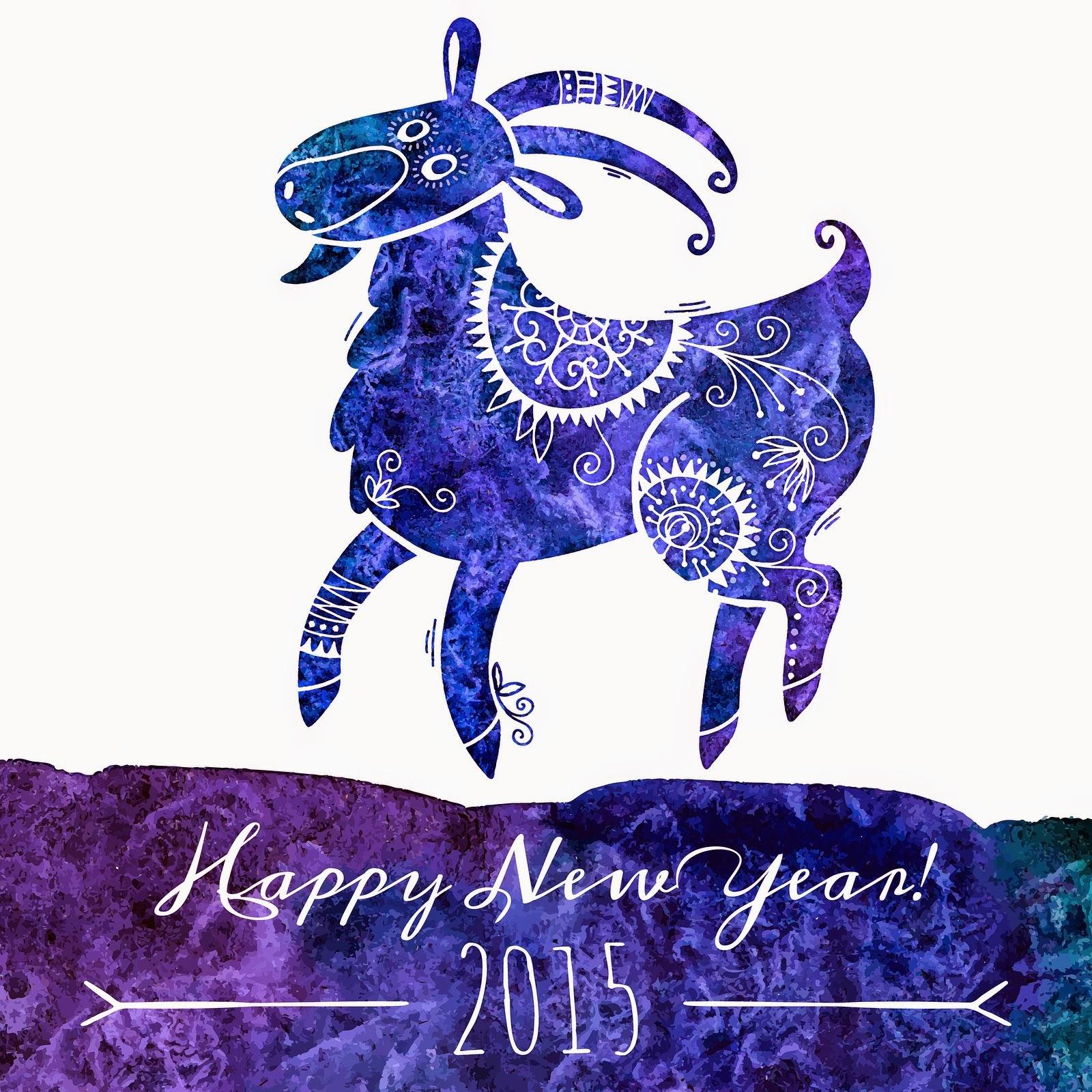 Новогодние открытки с козой своими руками