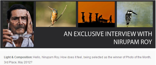 An Exclusive Interview with Nirupam Roy